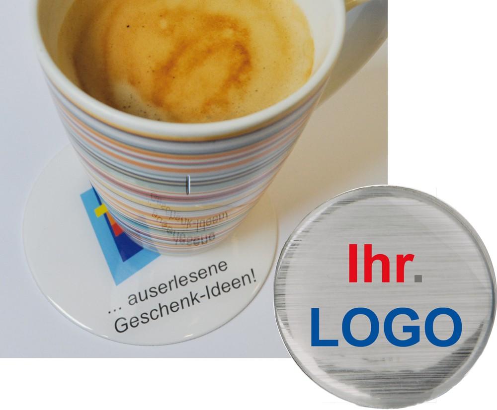 3D Untersetzer mit Logo