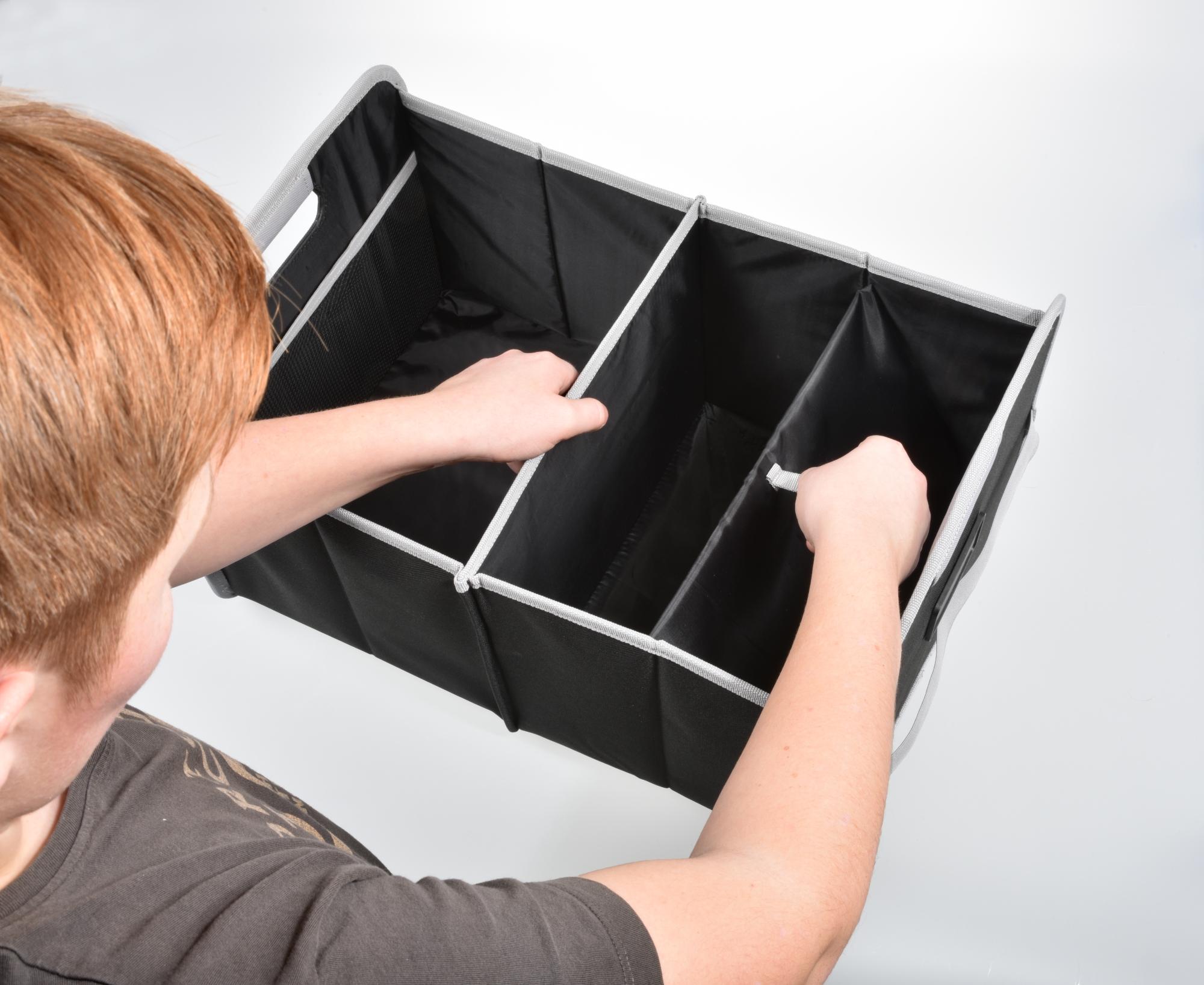 Kofferraum-Tasche als bedrucktes Werbegeschenk