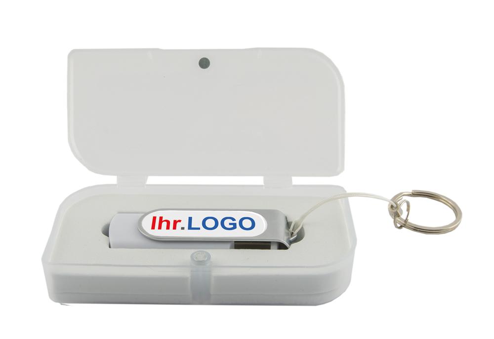 USB Stick V3 16 GB Dome als bedruckter Werbeartikel