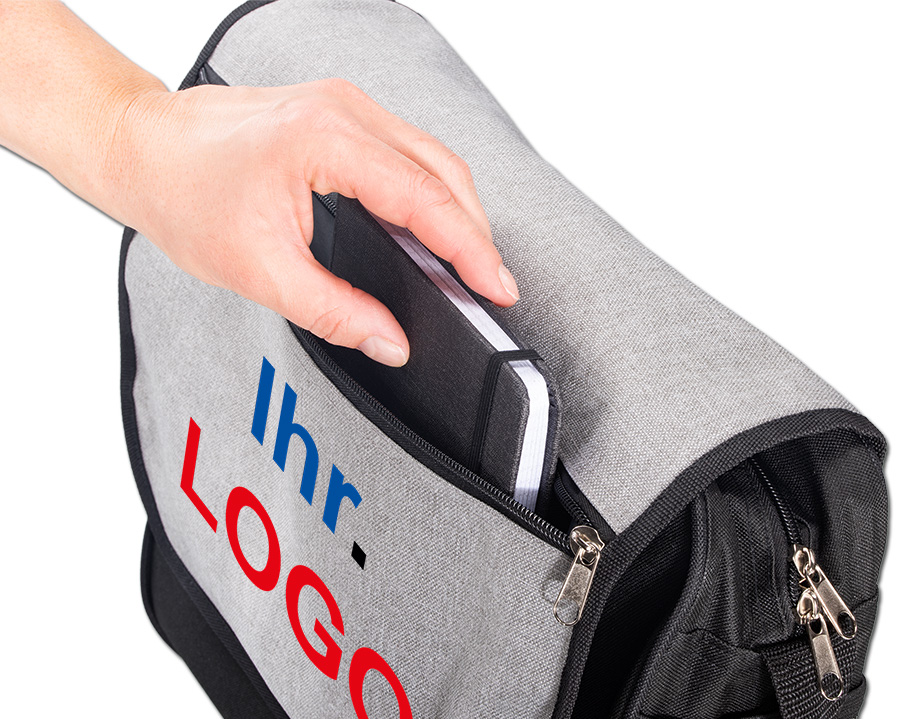 College Bag mit Logo