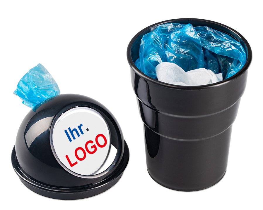 Tisch-Abfalleimer ...mit Logo bedrucken