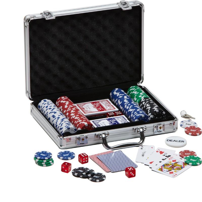 Poker Set ...mit Logo bedrucken